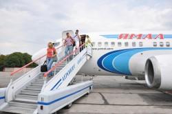 """Самолет авиакомпании """"Ямал"""""""