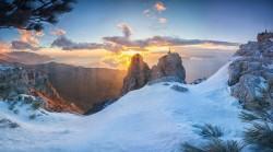 Горный Крым зимой